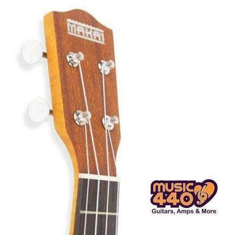 Image of Makai Soprano Solid Spruce Top Ukulele - Music 440