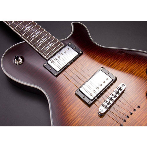 Image of Michael Kelly Ele Gtr Patriot Decree Caramel Burst - Music 440