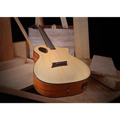 Image of Michael Kelly Guitars Forte Port Acoustic Guitar - Natural - Music 440