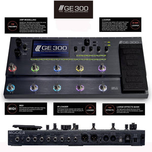 Mooer GE300 Amp Modelling and Multi Effects - Music 440