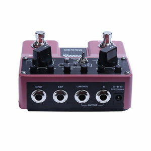 Mooer Tender Octaver Pro Octave Dual Guitar Effects Pedal - Music 440