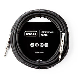 MXR Standard Instrument Cable - 20' - Music 440