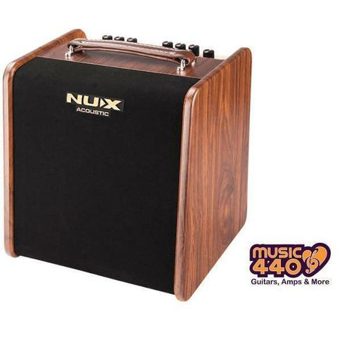 Image of NU-X AC50 Stageman 2-Channel, 50W Acoustic Guitar Amplifier with Digital FX - Music 440