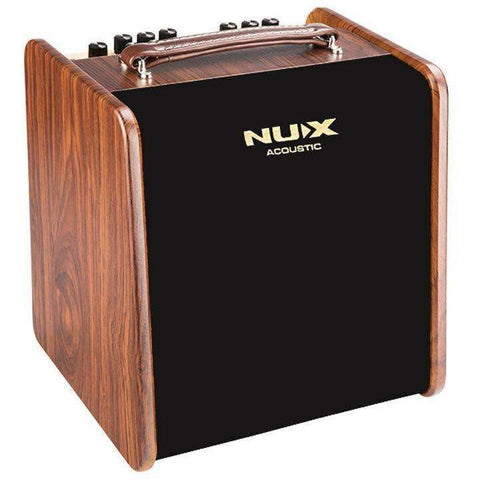 NU-X AC50 Stageman 2-Channel, 50W Acoustic Guitar Amplifier with Digital FX - Music 440