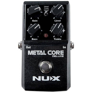 NU-X Core Stompbox Series Metal Core Deluxe Distortion Effects Pedal - Music 440