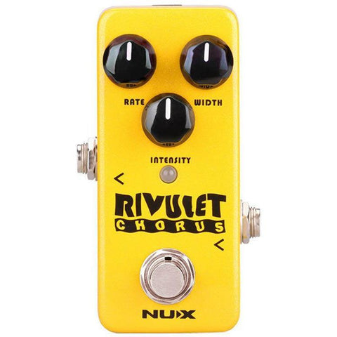 Image of NU-X Mini Core Series Rivulet Chorus Effects Pedal - Music 440