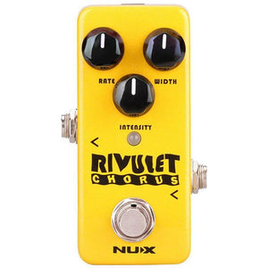 NU-X Mini Core Series Rivulet Chorus Effects Pedal - Music 440