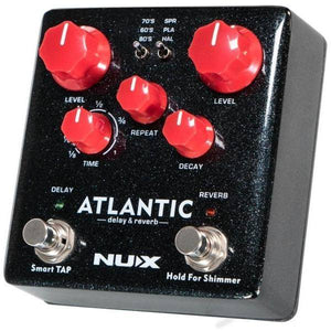 NU-X Verdugo Series Atlantic Multi Delay & Reverb Effects Pedal - Music 440