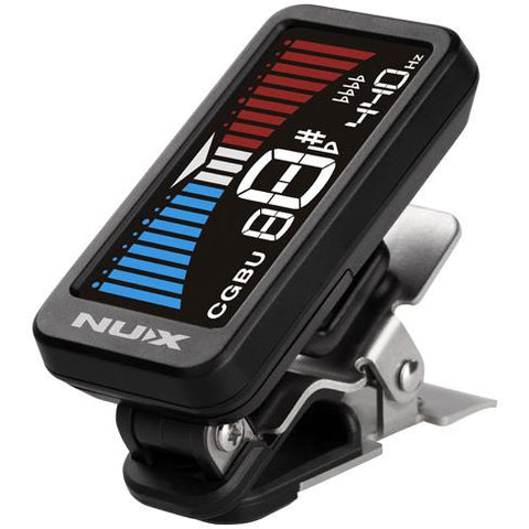 NU-X Nu-Tune Clip-on Tuner - Music 440