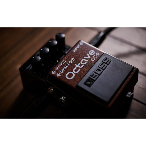 Image of BOSS OC5 Octave Pedal - Music 440