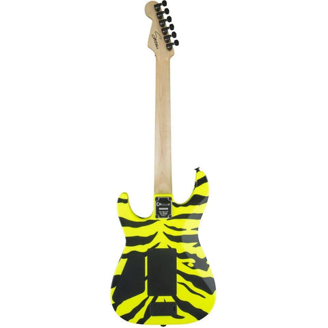 Image of Limited Edition Charvel Satchel Signature Pro-Mod DK, Maple Fingerboard, Yellow Bengal - Music 440