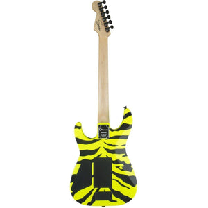 Limited Edition Charvel Satchel Signature Pro-Mod DK, Maple Fingerboard, Yellow Bengal - Music 440