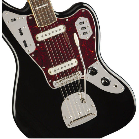Squier Classic Vibe '70s Jaguar, Laurel Fingerboard, Black - Music 440