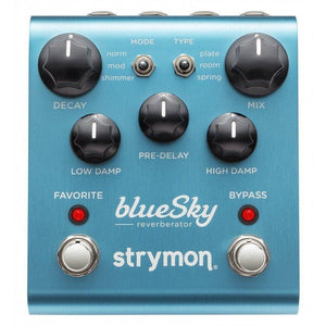 Strymon blueSky Reverberator - Music 440