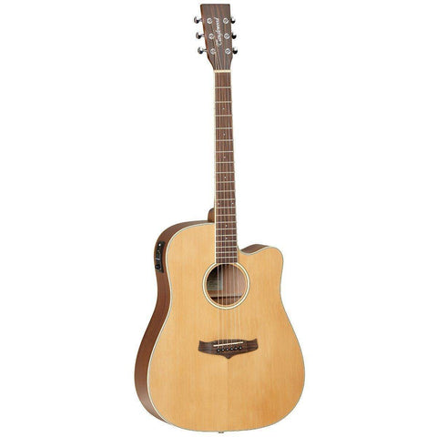 Image of Tanglewood TW10 Winterleaf Dreadnought C-E - Music 440