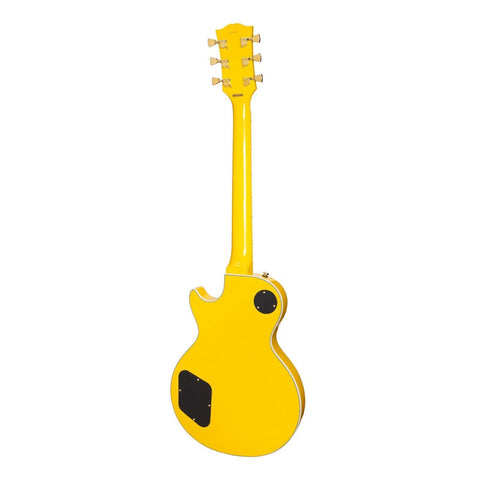 Image of Tokai ALC-62-YW 'Traditional Series' LP-Custom Style Electric Guitar (Yellow) - Music 440