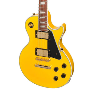 Tokai ALC-62-YW 'Traditional Series' LP-Custom Style Electric Guitar (Yellow) - Music 440