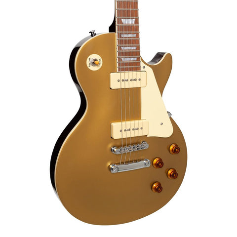 Image of Tokai 'Traditional Series' ALS-65S LP-Style Electric Guitar w/P90's - Gold Top - Music 440