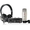 Behringer U-Phoria Studio Recording Bundle w/Interface, Mic & Headphones