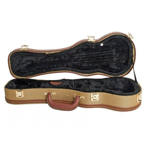 Image of Xtreme Soprano Ukulele Hardcase - Tweed - Music 440