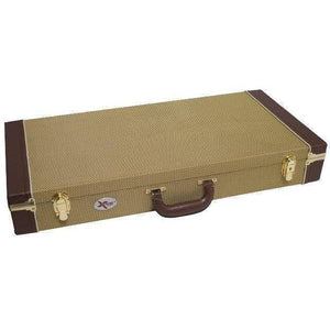 Xtreme Vintage Style Pedal Road Case - Tweed Cover - Music 440