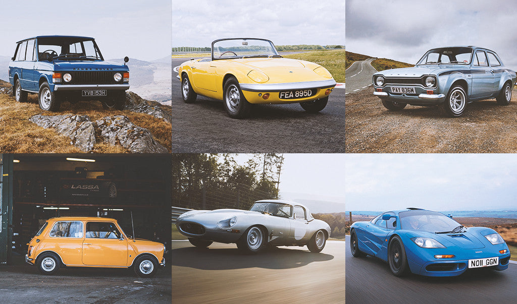 10 Coolest British Classic Cars