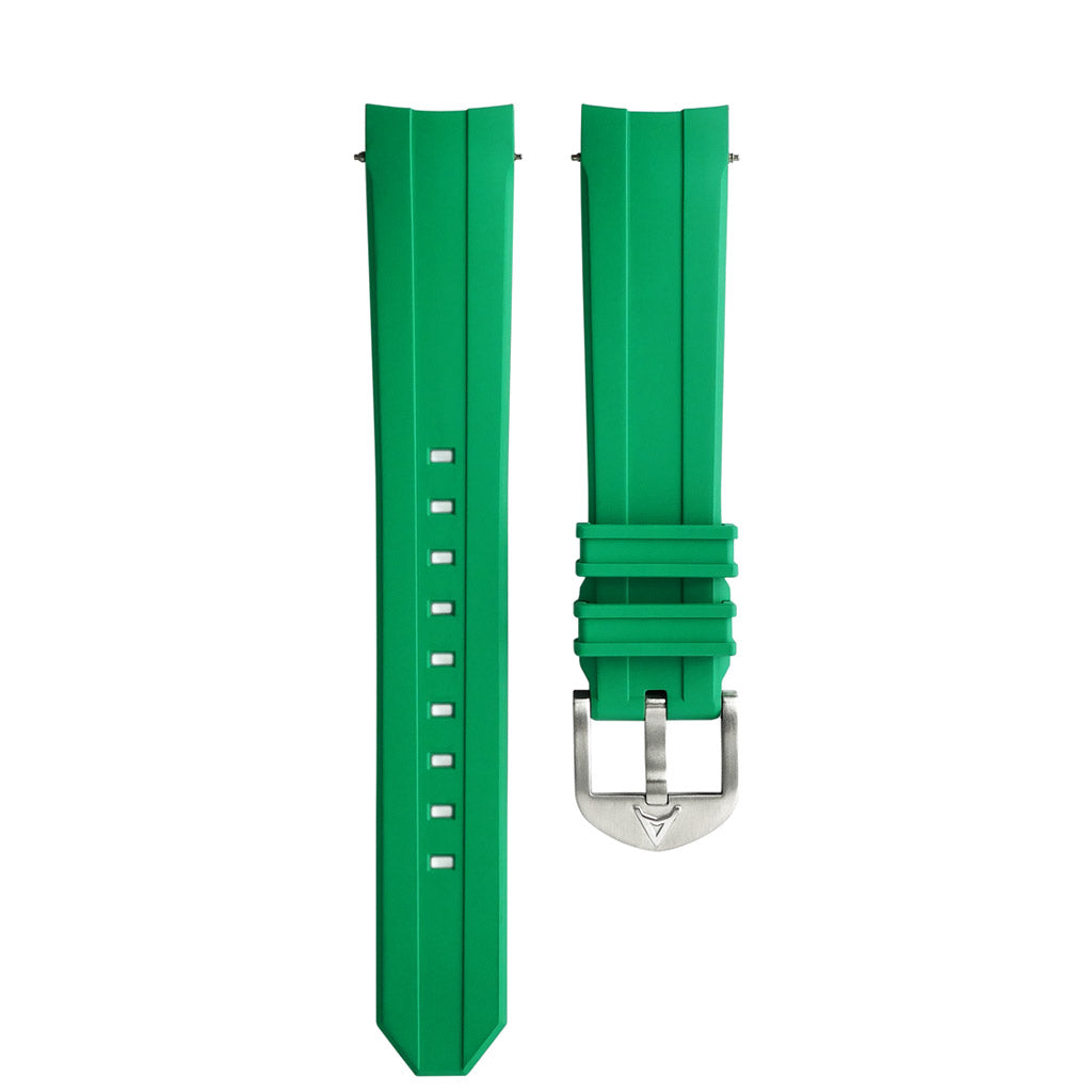 Green Rubber Strap AC
