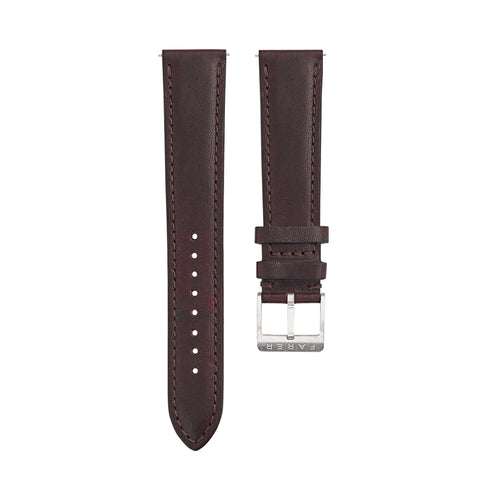 Chocolate Leather Strap