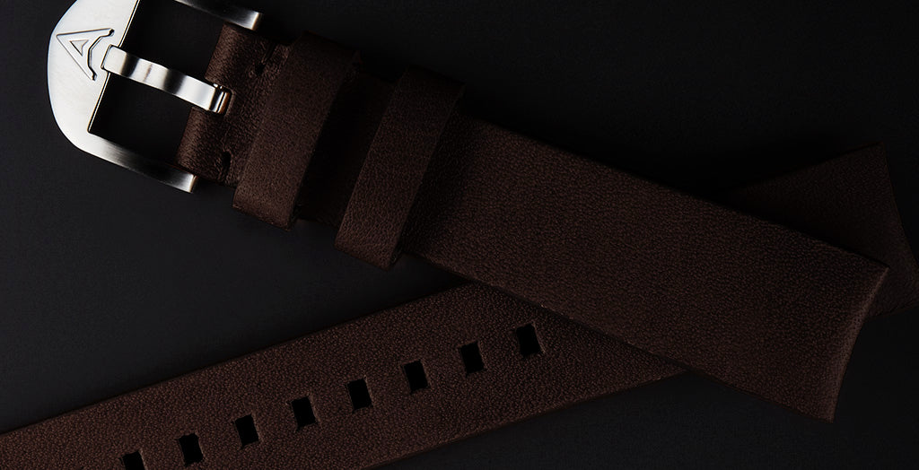 BROWN HORWEEN STRAP (FITS AQUA COMPRESSOR)