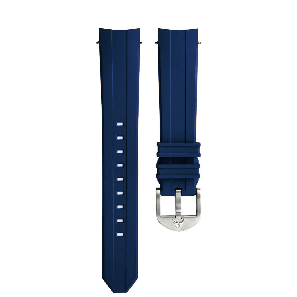 Navy Rubber Strap AC