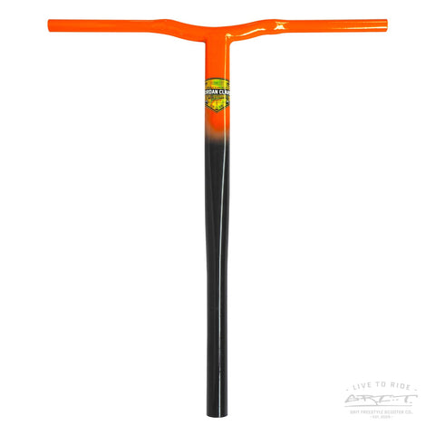 Grit Jordan Clark Signature Handlebar V2 - SCS - Black / Orange