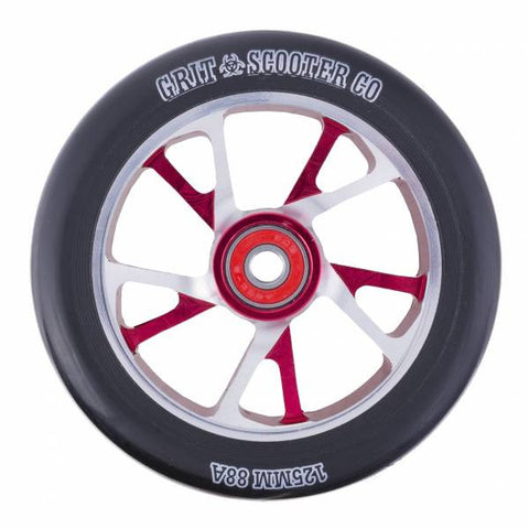 Grit Bio Core Spoked Wheel - 125mm