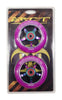 Grit 100mm 8 Spoke ACW Wheels - Twin Pack