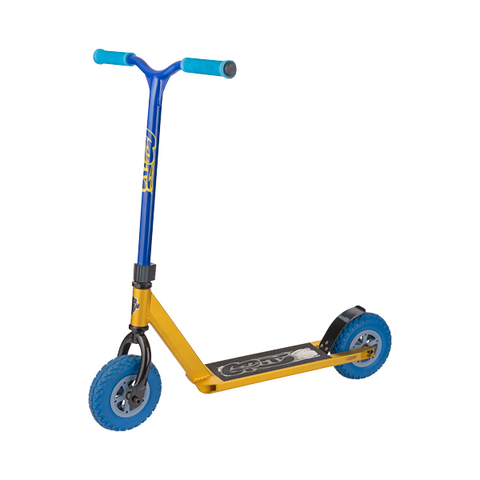 Grit D1 Dirt Scooter - Gold / Blue