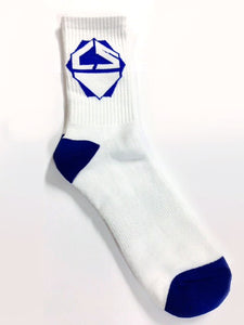 Crisp Scooters Socks - Pack of 3 Pairs - White