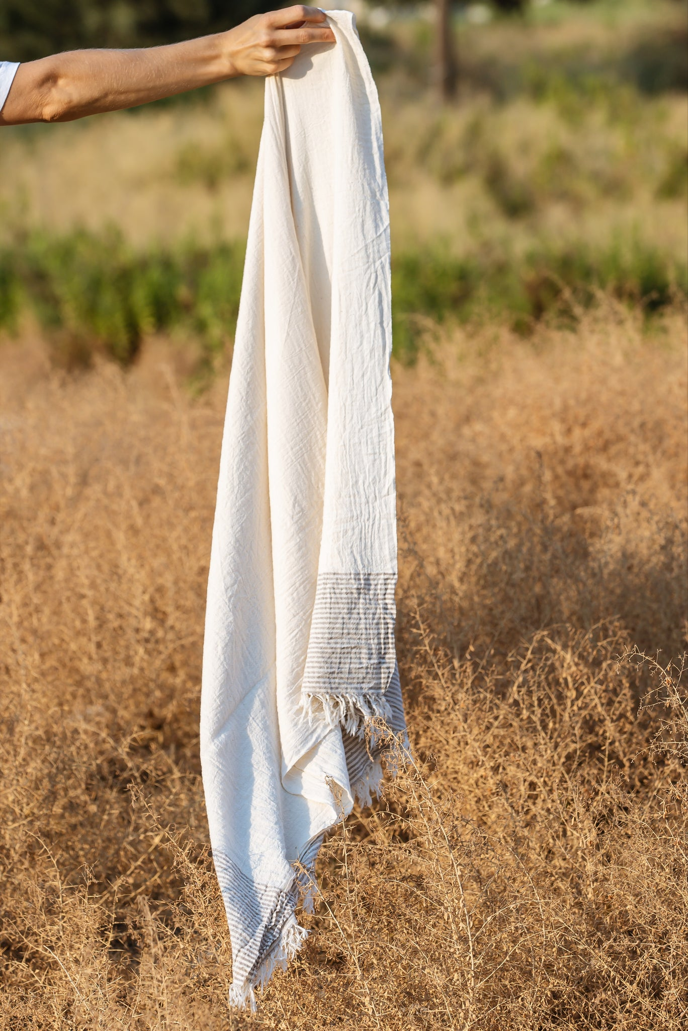 Anatowel SOFT PARADE (natural white/mocca)