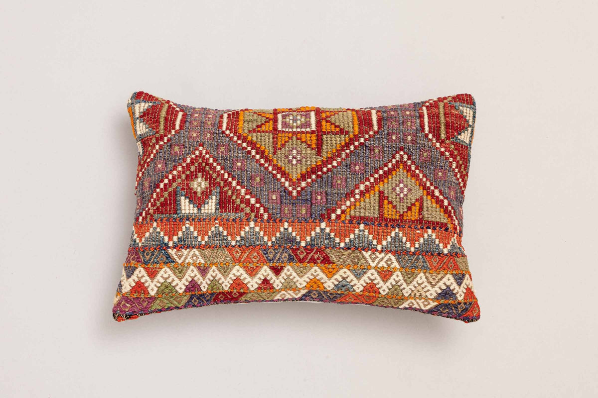 "Kilim Cushion ""Dilek"" (50x35cm)"