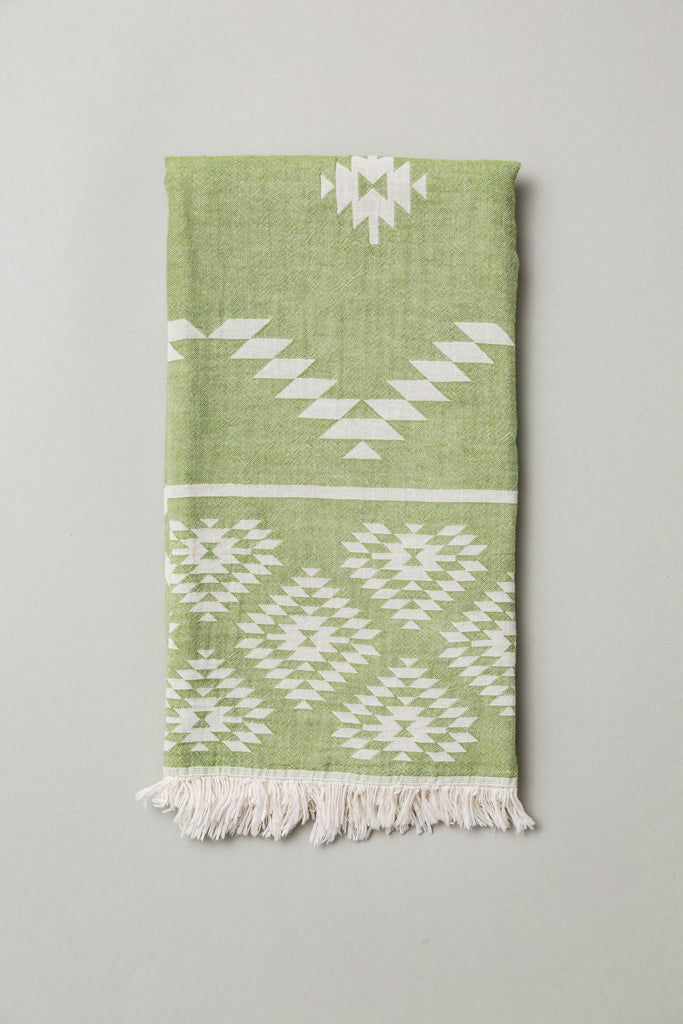 Anatowel WIPE OUT (sage green/white)