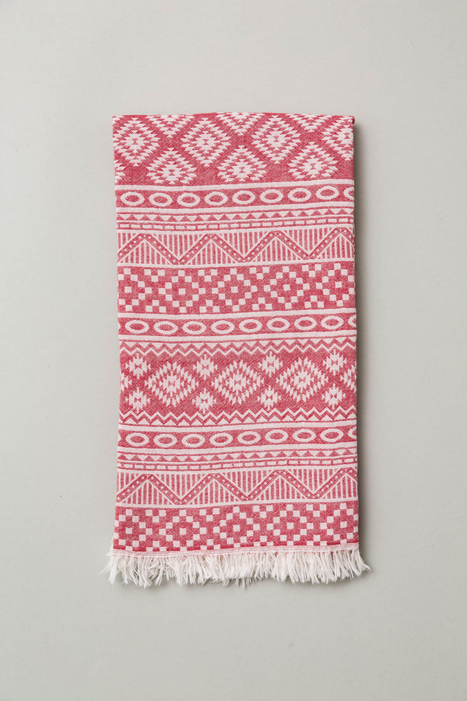 Anatowel METROPOLIS (red dervish/white)