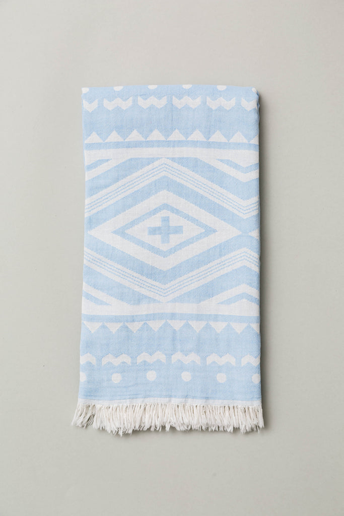 Anatowel BONE (skyblue/white)