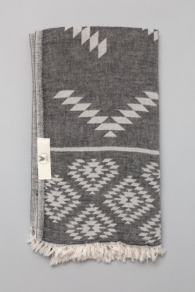 Anatowel NAVAJO (black pebble/fade to grey)