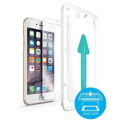 Power Theory Panzerglasfolie Passend für iPhone 6s Plus / 6 Plus - Japanische 9H Panzerglas Folie, HD Displayschutzfolie/Panzerfolie, Tempered Glas Schutzglas, Schutzfolie Screen Protector Glass