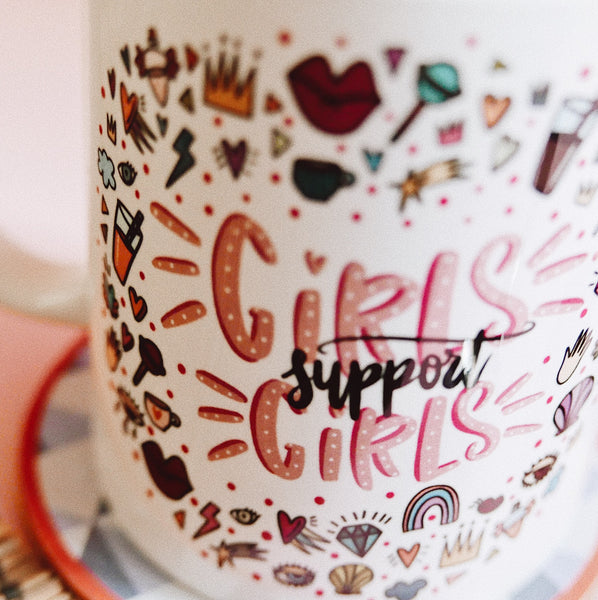 Taza - Girls support girl