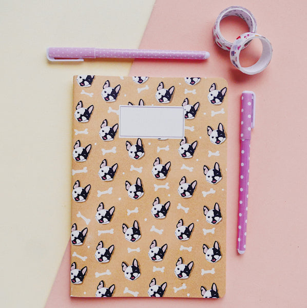 Cuaderno Frenchie