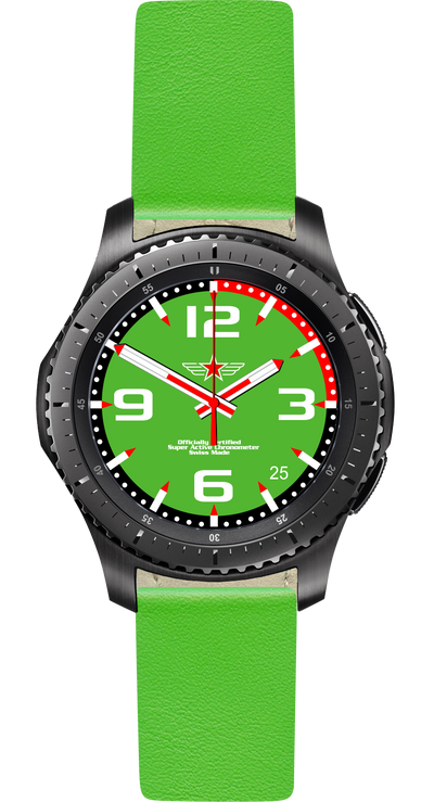 Watch Face Samsung Gear S3 Frontier - Classic - S2 design Fashion Lazer - Bandsforwatches