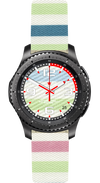 Watch Face Samsung Gear S3 Frontier - Classic - S2 design Cotton Lollypop - Bandsforwatches