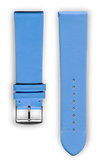 "French Leather ""Fashion"" watchband handmade in France. Color: Hortensia"
