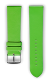 "French Leather ""Fashion"" watchband handmade in France. Color: Lazer - Bandsforwatches"