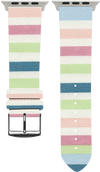 100% Cotton (Fabric) Lollypop Watch Strap/Bands for the Apple watch - Bandsforwatches