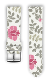 100% Cotton watchband with calf leather back. Design: Lovisa